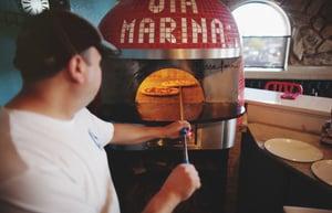 via Marina Wood Fired Pizza & Italian Cafe