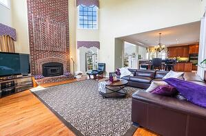 Living Room in Seattle Rental Property