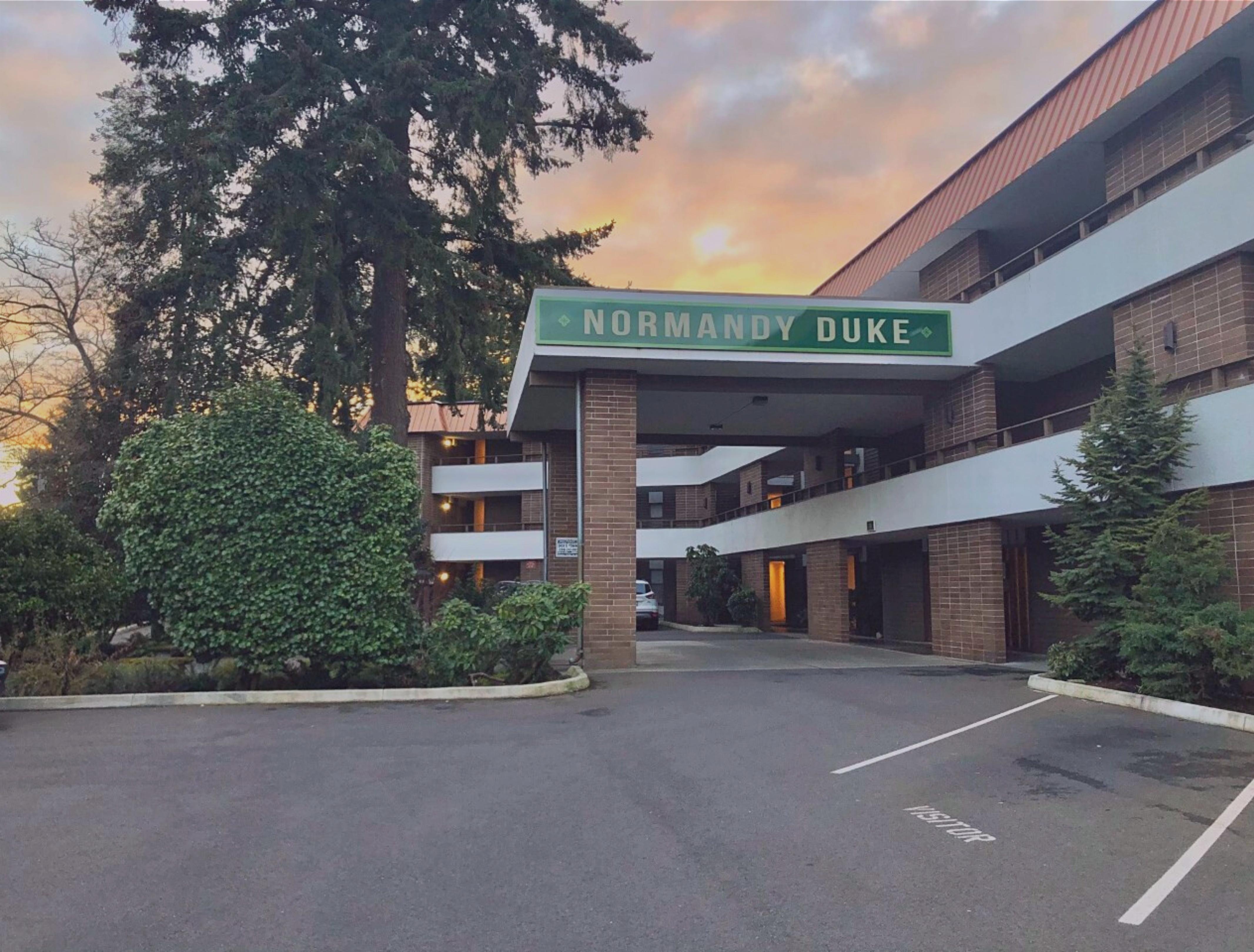 Normandy Duke Apartments Exterior Seattle WA